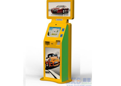 Multifunction Bill Payment LCD , TFT Dual Screen 32 Kiosk Free Standing