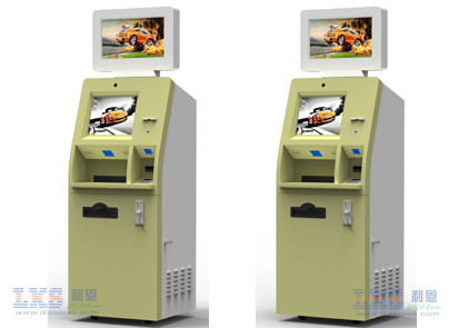 Custom Multifunction Self Service Kiosk With Photo Printing / Cash Acceptor