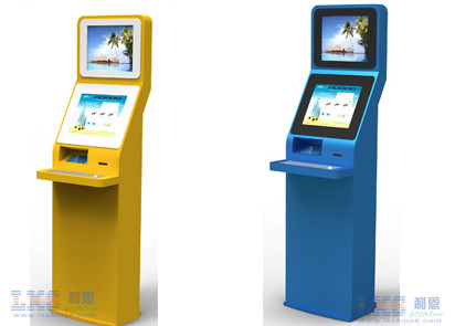 Self Bill Payment Dual Screen Kiosk , Customise 42 Kiosk With A4 Laser Printer