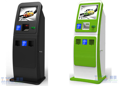 Customization Health Kiosk With Smart Hopper , Money Or Bank Card Reader Payment Terminal