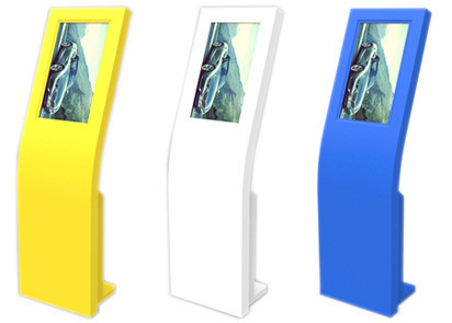 IP65 Medical Healthcare Kiosk , Custom Kiosk 220V - 240V 17 Inch SAW Touch Screen