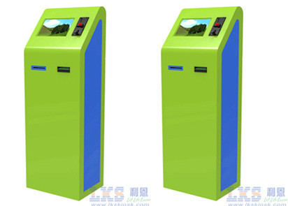 Coin Acceptor , Bill Acceptor Payment Touch Screen Kiosk Customer Service