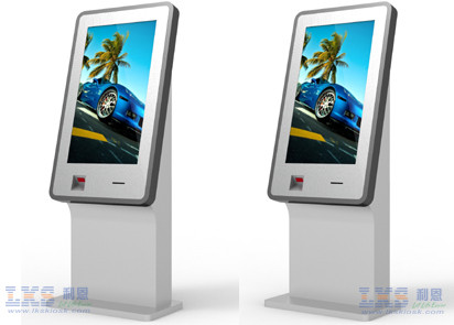 Indoor Custom Made Self Service Kiosk Wifi / 3G Modems / GPRS