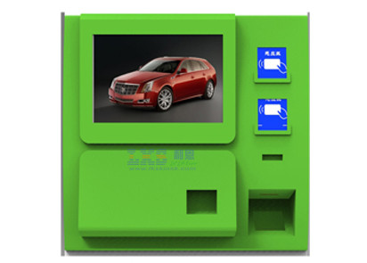 Touch Screen Printer Customer Service Kiosk For Prepaid Phone Cards