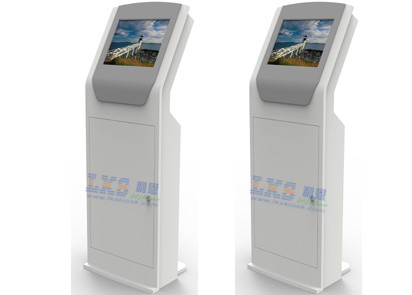 "17"" / 19"" Full High Definition IR Touch Screen Information Internet Kiosk For Hotel Check"