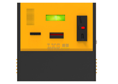 High Safety Self-Service Wall Mounted Bill Validate Kiosk For Bus Station